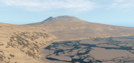 McMurdo Sound with Mount Erebus [Antarctica4XPlane]