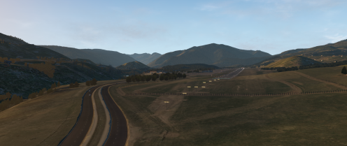 Sloped runway as close to the reality as possible (possible with a sub-meter vertical resolution)