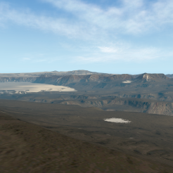 McMurdo Dry Valleys - Upper Wright Glacier