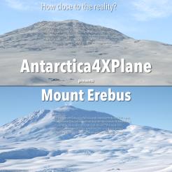 Antarctica4XPlane - Mount Erebus